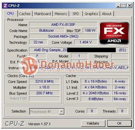 Что показали тесты AMD FX-8130P?