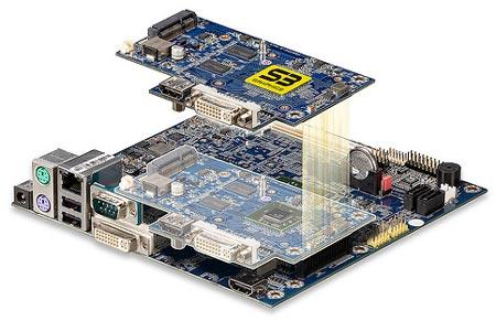 плата VIA VB8004 и графический модуль VIA S3 5400E