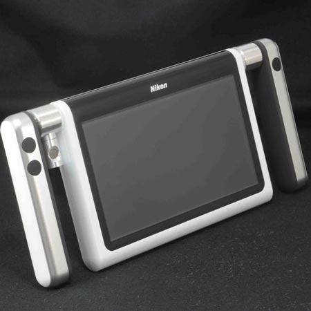 прототип камеры Nikon с большим экраном