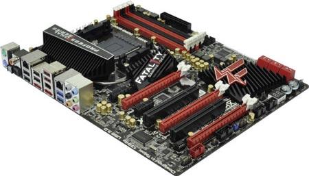 ASRock Fatal1ty 990FX Professional — первая плата ASRock Fatal1ty для процессоров AMD FX