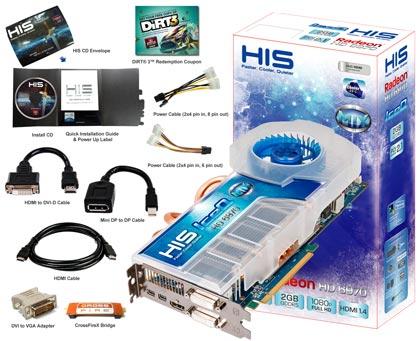 3D-карта HIS 6970 IceQ Mix