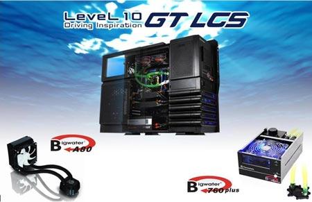 Новинки Thermaltake: корпус со встроенной СВО Level 10 GT LCS и два процессорных охладителя Bigwater