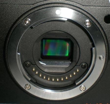 байонет и датчик изображения беззеркальной камеры Nikon