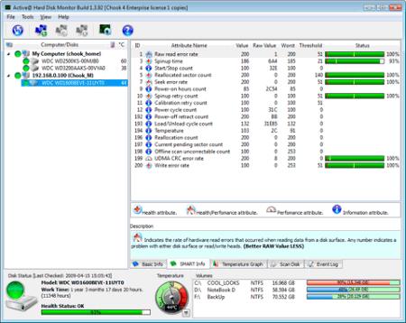 ��������� Active@ Hard Disk Monitor