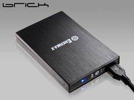 корпус для внешнего накопителя Enermax Brick с интерфейсом USB 3.0