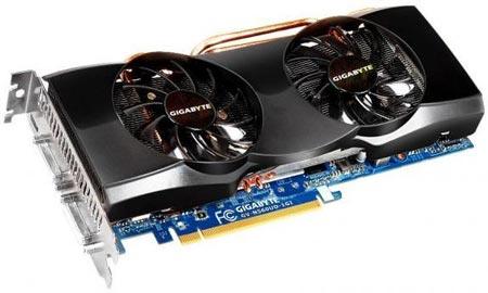Gigabyte готовит к выпуску еще два варианта 3D-карты GeForce GTX 560 Ti