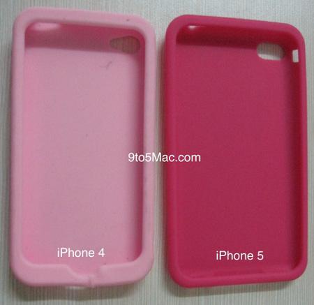 Футляры для iPhone 5 уже в продаже в китайских магазинах