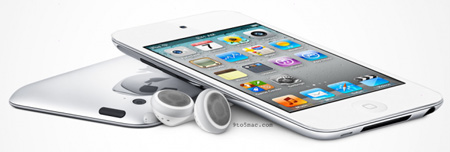 Эскиз iPod touch белого цвета