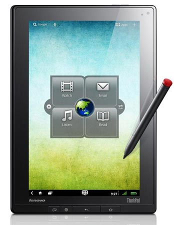 Планшеты Lenovo IdeaPad Tablet K1 и ThinkPad Tablet представлены официально