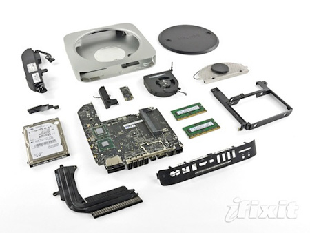 iFixit опубликовал фотоотчет о разборке новой модели компьютера Mac mini