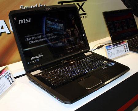 MSI предлагает за доплату комплектовать ноутбук GT780 видеокартой NVIDIA GeForce GTX 570M