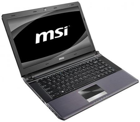 Ноутбук MSI X460