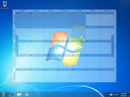 Результат работы Outlook on the Desktop