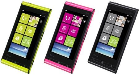 первый в мире смартфон с ОС Windows Phone Mango — Fujitsu Toshiba IS12T