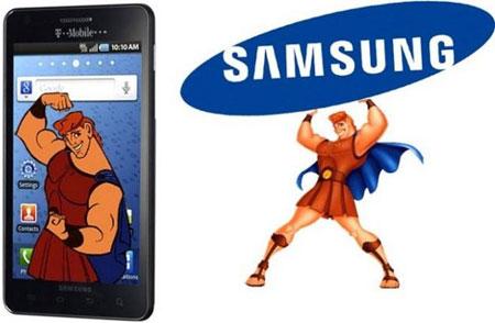 Samsung Hercules под управлением Android 2.3 будет представлен 26 сентября