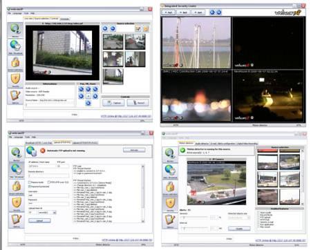 Интерфейс программы WebcamXP