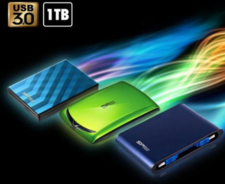 Silicon Power ������ ����� ������� HDD ����� Stream S10 � Armor A80 �� 1 ��