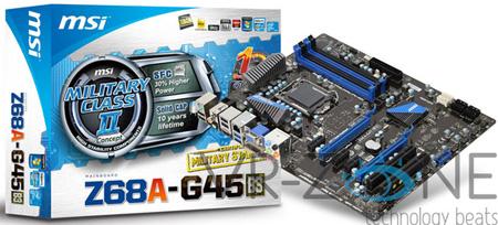 MSI Z68A-G45
