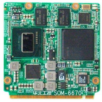 Одноплатный компьютер SOM-6670