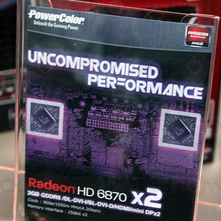 � PowerColor ������ 3D-����� � ����� GPU Radeon HD 6870