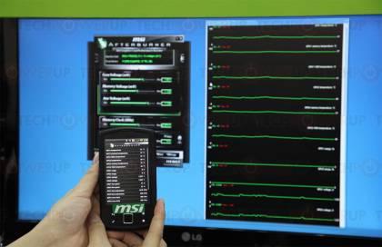 Мобильная утилита MSI Afterburner