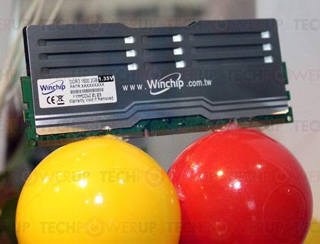 Computex 2011: яркие модули памяти WinChip