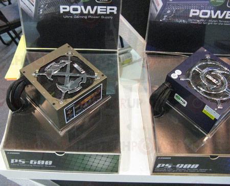 блоки питания EZCOOL PS-600 и PS-900