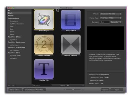 Final Cut X является 64-битным Cocoa-приложением и поддерживает технологию OpenCL