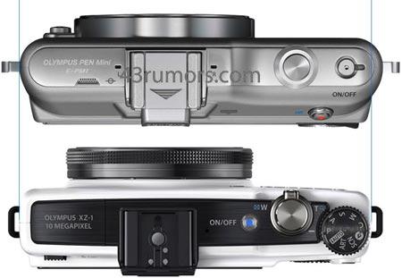 камеры Olympus E-PM1 и Olympus XZ-1