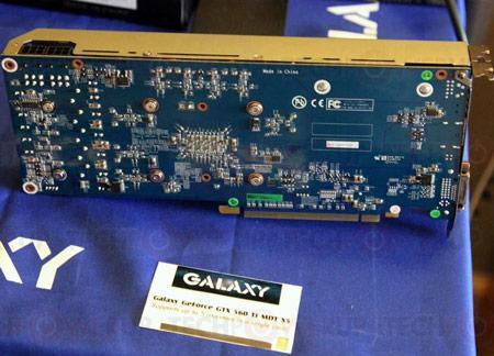 � 3D-������ Galaxy GeForce 210 MDT X4 � GeForce GTX 560 Ti MDT X5 ����� ���������� ������ ���� ���������