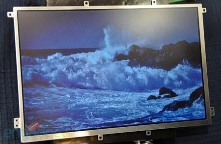 Pixel Qi показала 10-дюймовую панель разрешением 1280 x 800 пикселей