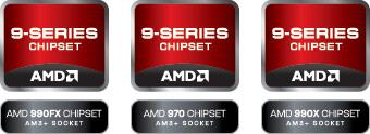 Наборы системной логики AMD 9-й серии представлены официально