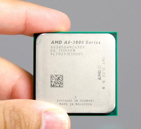 AMD A8-3850, флагман серии, оценивается в $143,77