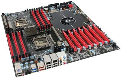 В начале следующего года EVGA Classified SR-2 будет заменена новой системной платой с двумя процессорными разъемами LGA 2011