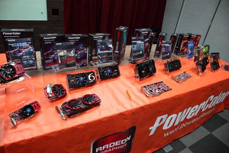 Computex 2011: репортаж со стенда PowerColor