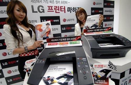 LG выпускает самый быстрый в мире цветной настольный принтер формата A4