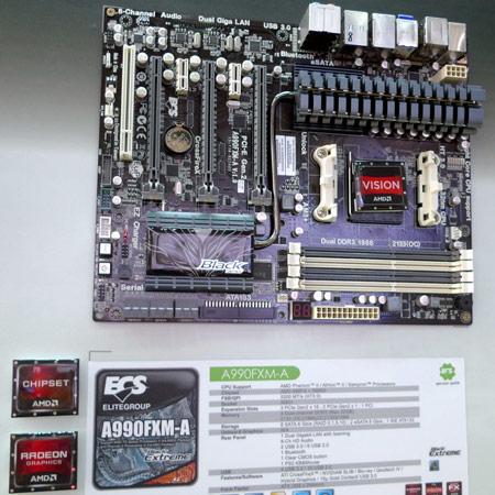 Computex 2011: павильон ECS