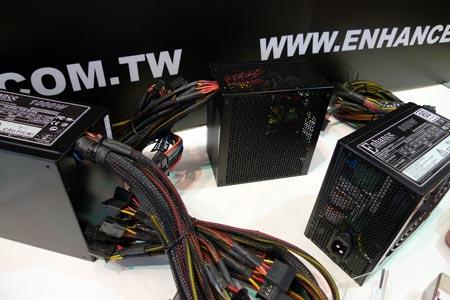 блоки питания Enhance на выставке Computex 2011