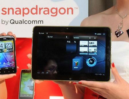 Quanta Slate работает под управлением ОС Android Honeycomb