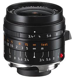 объектив Leica Super-Elmar-M 21mm f/3.4 ASPH.