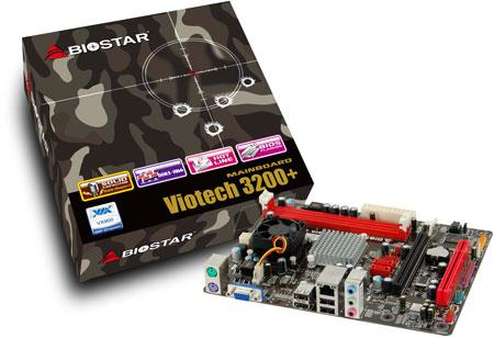 BIOSTAR начинает поставки системных плат Viotech 3200+ Ver. 6.x