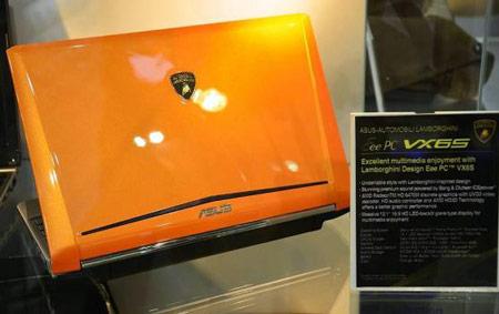 нетбук ASUS Lamborghini VX6S с GPU AMD Radeon