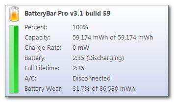 ��������� BatteryBar