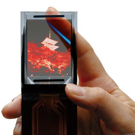TDK начинает массовый выпуск прозрачных дисплеев OLED