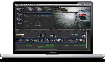 Final Cut Pro X — новую версию популярной программы для профессионального монтажа видео