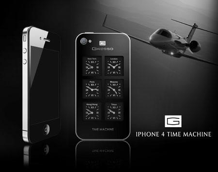 iPhone 4 Time Machine