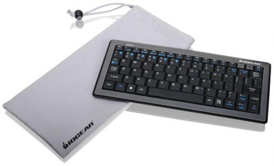 IOGEAR GKB601B Multi-Link Bluetooth Mini Keyboard