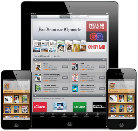 Newsstand ��� iOS 5