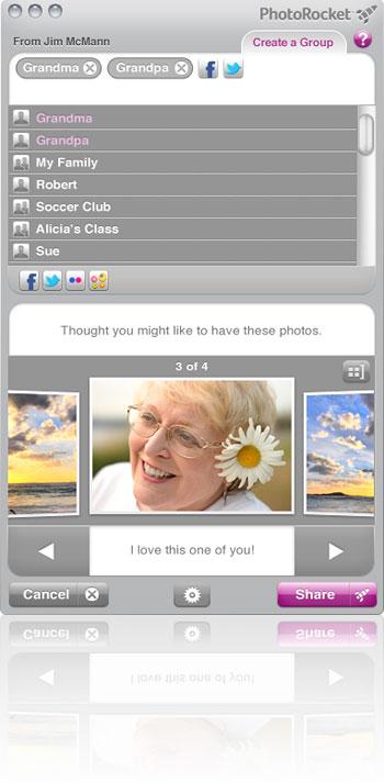 PhotoRocket для Mac