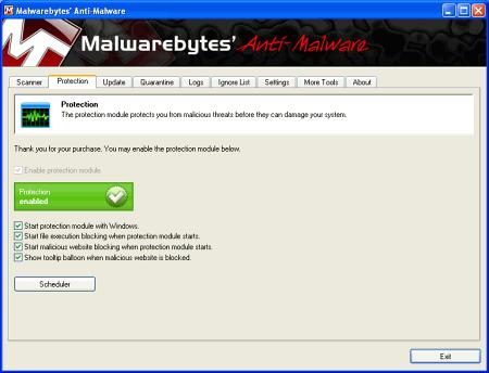 ���� ��������� Malwarebytes Anti-Malware